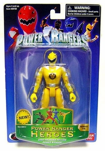Power Rangers Heroes Dino Thunder Series 16 Action Figure Yellow Ranger