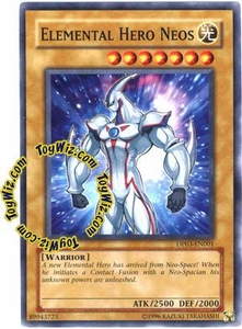 YuGiOh GX Duelist Pack Jaden Yuki 2 Single Card Common DP03-EN001 Elemental Hero Neos