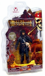 Pirates of the Caribbean At World's End Disney Exclusive Action Figure Captain Jack Sparrow