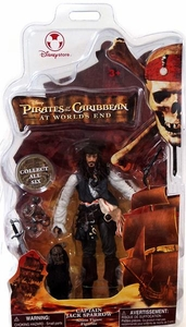 Pirates of the Caribbean At World's End Disney Exclusive Action Figure Captain Jack Sparrow  [Variant]