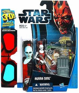 Star Wars 2012 Discover the Force Exclusive Action Figure Aurra Sing