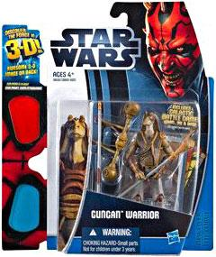 Star Wars 2012 Discover the Force Exclusive Action Figure Gungan Warrior