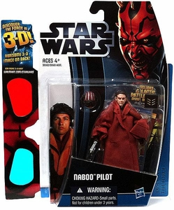 Star Wars 2012 Discover the Force Exclusive Action Figure Naboo Pilot