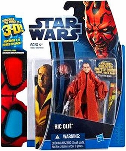 Star Wars 2012 Discover the Force Exclusive Action Figure Ric Olie