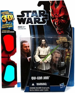 Star Wars 2012 Discover the Force Exclusive Action Figure Qui-Gon Jinn