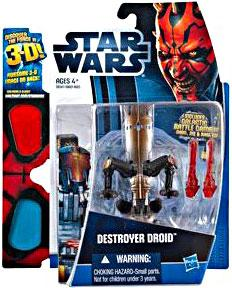 Star Wars 2012 Discover the Force Exclusive Action Figure Destroyer Droid