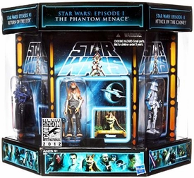 Star Wars 2012 SDCC San Diego Comic Con Exclusive Action Figure 7-Pack Vintage Carbonite Chamber