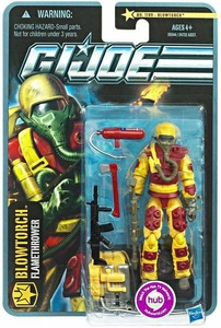 GI Joe Pursuit of Cobra 3 3/4 Inch Action Figure Blowtorch [Flamethrower]
