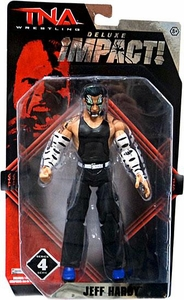 TNA Wrestling Deluxe Impact Series 4 Action Figure Jeff Hardy