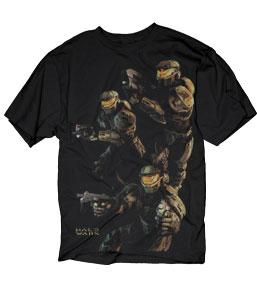 Halo Wars Adults T-Shirt Three Spartans