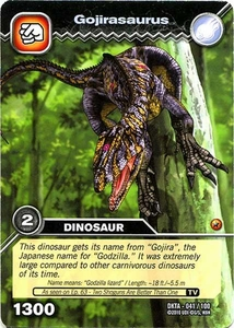 Dinosaur King Time Warp Adventures Single Card Common DKTA-041 Gojirasaurus