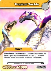 Dinosaur King Time Warp Adventures Single Card Common DKTA-046 Tropical Tackle