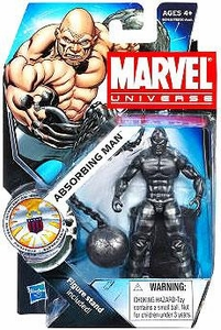 Marvel Universe 3 3/4 Inch Series 16 Action Figure #24 Absorbing Man [Dark Metallic Version]