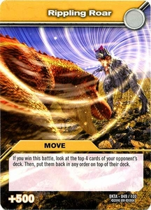 Dinosaur King Time Warp Adventures Single Card Common DKTA-049 Rippling Roar