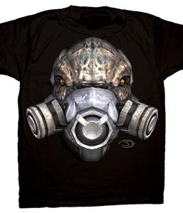 Halo 3 Adults T-Shirt Grunt Face