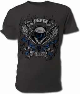 Halo Wars Adults T-Shirt Helljumpers Tattoo