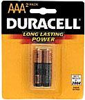Duracell Batteries AAA Battery 2-Pack