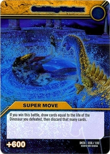 Dinosaur King Time Warp Adventures Single Card Silver Foil DKTA-056 Swirling Vortex