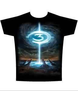 Halo 3 Adults T-Shirt Particle Fountain