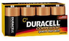 Duracell Batteries C Battery 4-Pack