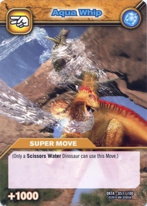 Dinosaur King Time Warp Adventures Single Card Common DKTA-057 Aqua Whip