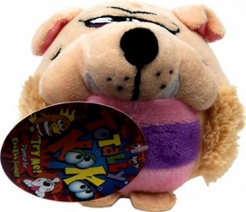 Totally KooKoo Mini Talking Plush Slobbering, Mild-Mannered, Bull Doggy