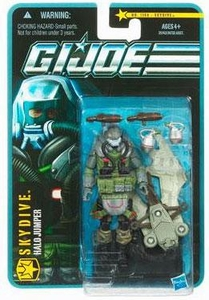 GI Joe Pursuit of Cobra 3 3/4 Inch Action Figure Skydive [Halo Jumper]