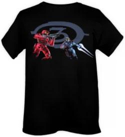 Halo Wars Adults T-Shirt Red vs. Blue