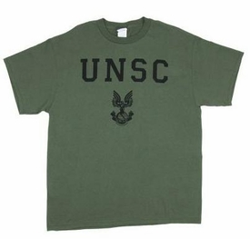 Halo 3 Adults T-Shirt UNSC Bold Logo [Adult]