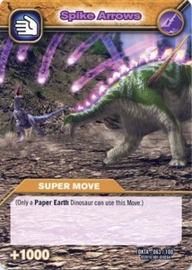 Dinosaur King Time Warp Adventures Single Card Common DKTA-063 Spike Arrow