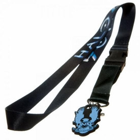 Halo 4 Logo Lanyard with Rubber Charm