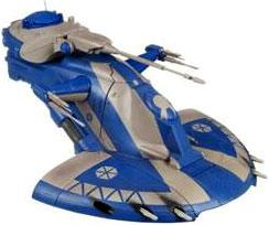 Star Wars 2009 Clone Wars Vehicle Figure Pack AAT Trade Federation Tank