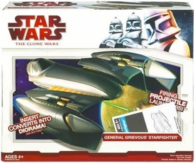 Star Wars 2009 Clone Wars Vehicle General Grievous' Starfighter