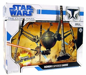 Star Wars Clone Wars Animated Series Vehicle Homing Spider Droid