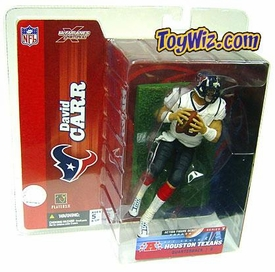 McFarlane Toys NFL Sports Picks Series 7 Action Figure David Carr (Houston Texans) White Jersey