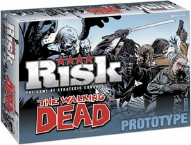 Risk Exclusive Board Game Walking Dead Survival Edition
