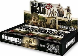 The Walking Dead TV Show Season 2 Cryptozoic Trading Cards Box [24 Packs]