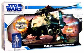 Star Wars Clone Wars Animated Series Vehicle AT-TE [All Terrain Tactical Enforcer]