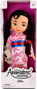 Disney Exclusive Princess Animators Collection 16 Inch Doll Figure Mulan
