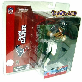 McFarlane Toys NFL Sports Picks Series 7 Action Figure David Carr (Houston Texans) Blue Jersey Variant