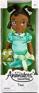 Disney Exclusive Princess Animators Collection 16 Inch Doll Figure Tiana