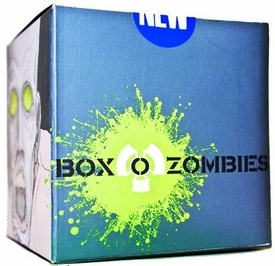 Box-O-Zombies Classic Style Minifigure 6-Pack Green