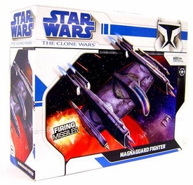 Star Wars 2009 Clone Wars Vehicle Magna Guard Fighter