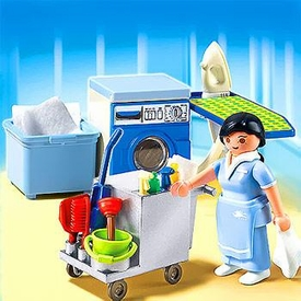 Playmobil Summer Fun Set #5271 Housekeeping Service Pre-Order ships August