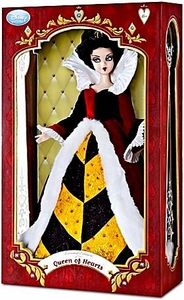 Disney Alice in Wonderland Exclusive 17 Inch Limited Edition Doll Figure Queen of Hearts Only 500 Made!