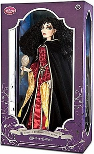 Disney Tangled Exclusive Limited Edition 17 Inch Deluxe Doll Mother Gothel Only 1,500 Made!