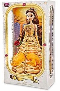 Disney Beauty and the Beast Exclusive 17 Inch Limited Edition Doll Figure Belle Only 5,000 Made!