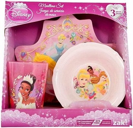 Disney Princess 3-Piece Mealtime Set [Plate, Bowl & Tumbler]