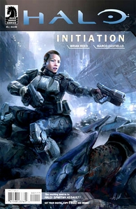 Halo Comic Book Initiation #1 (John Liberto cover)