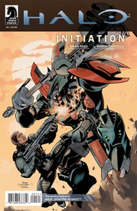Halo Comic Book Initiation #1 (Terry Dodson Variant Cover)